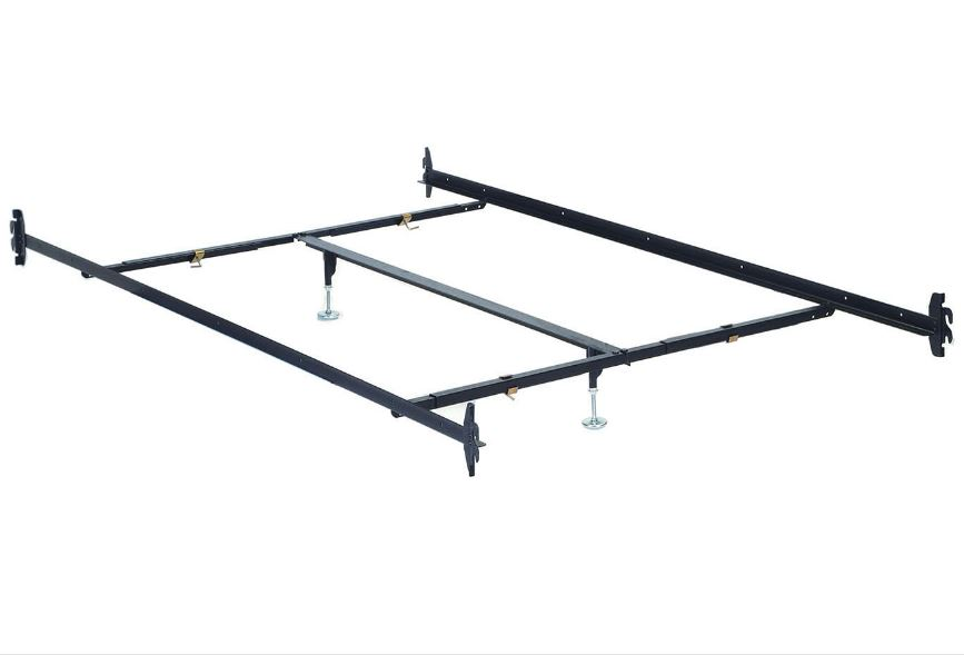 Frame Metal Queen Rail with Center Support - West Jordan - Taylorsville