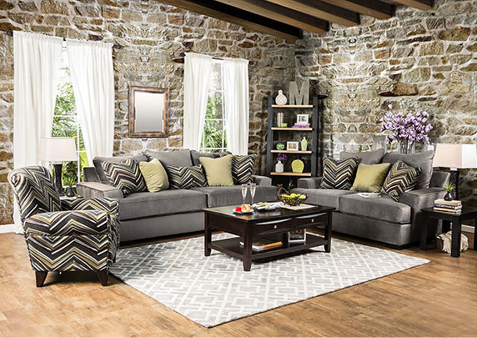 Rustic Furniture Living Room - Olympia West Jordan